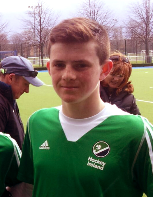 Ben Johnson Ireland U16 Boys Team