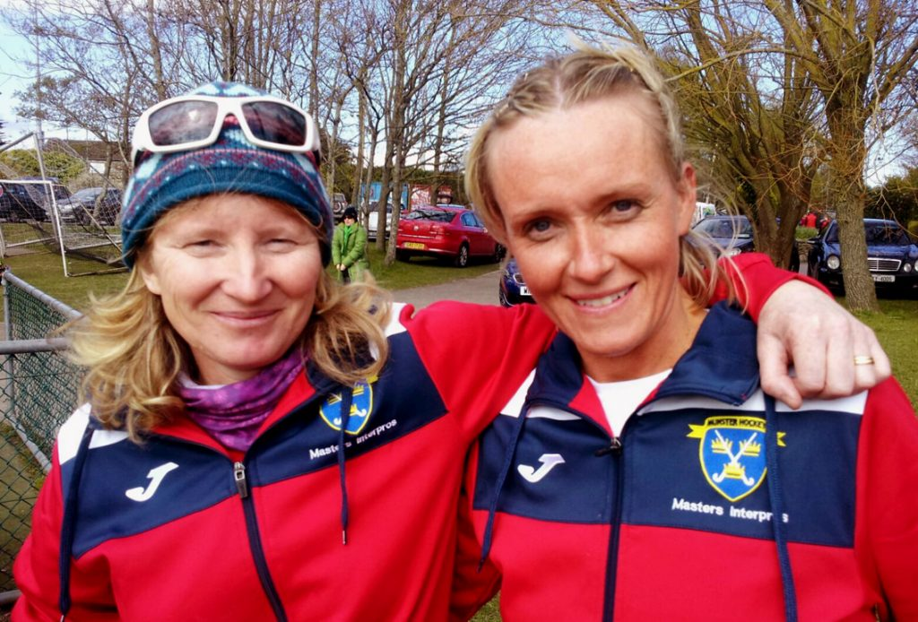 Karen Harris Sweeney + Ann Madden Ireland Masters Ladies Teams (Over 45's + Over 40's) .