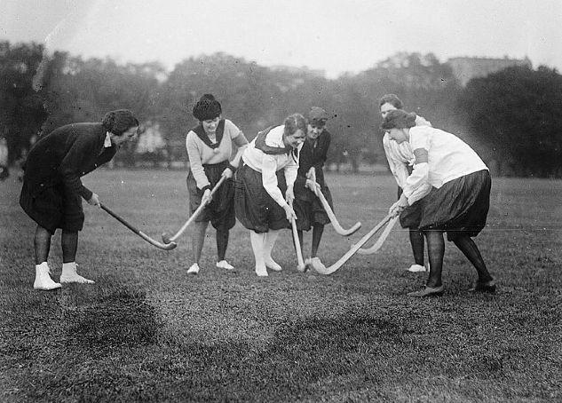 Ladies Field Hockey early 1900s