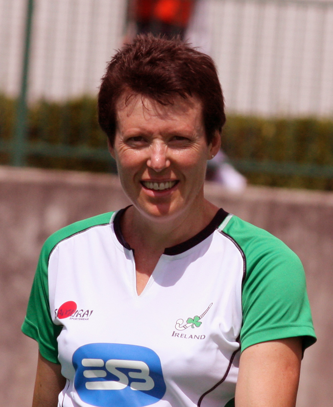Shirley Moore Ireland Masters Ladies Team (Over 45's)