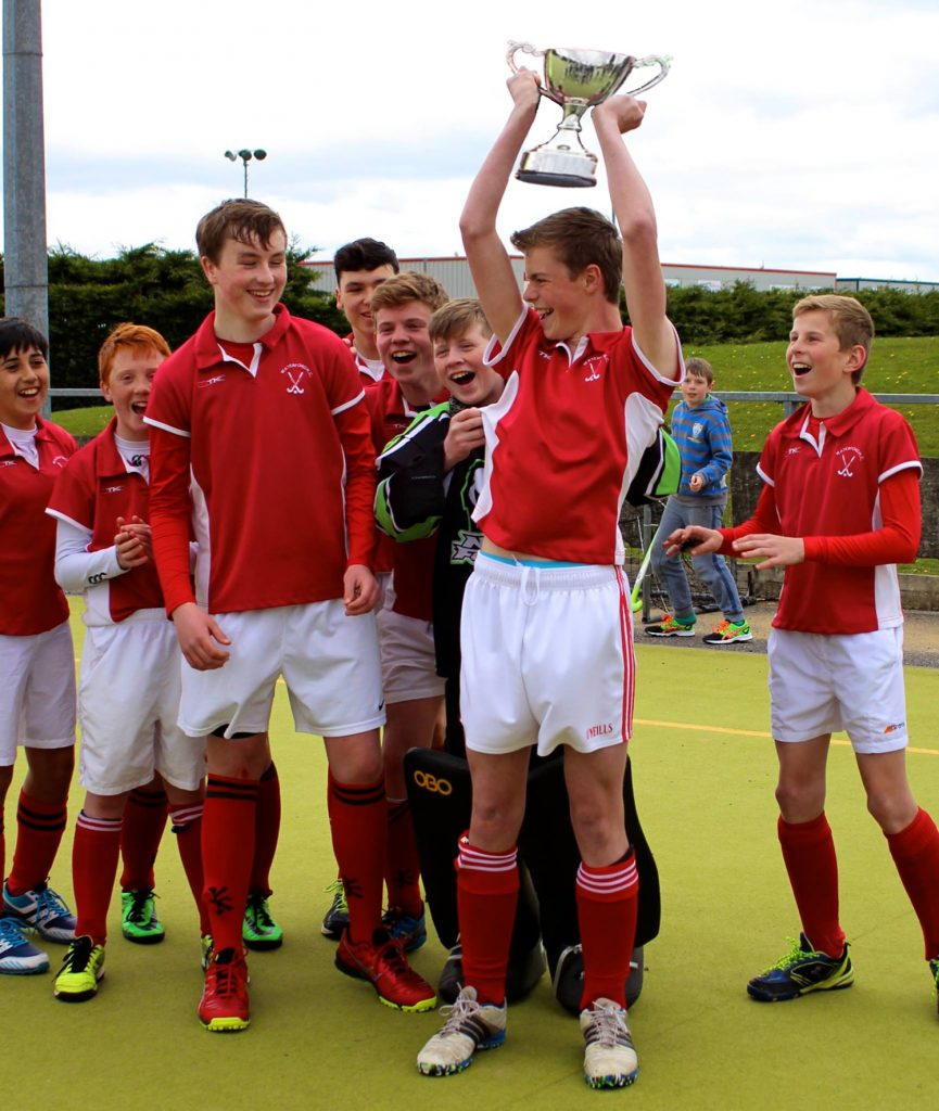 Waterford Hockey Club U14 Warriors win Munster U14 Cup 2015-2016 season.