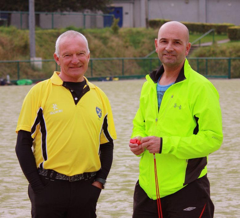Two of our loyal club umpires (and former club players).