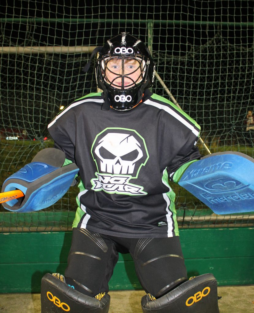 Waterford Hockey Club U14 Junior Boys Goalie.