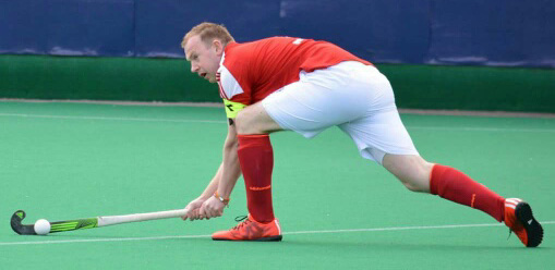 Waterford Hockey Club Senior Men's player.