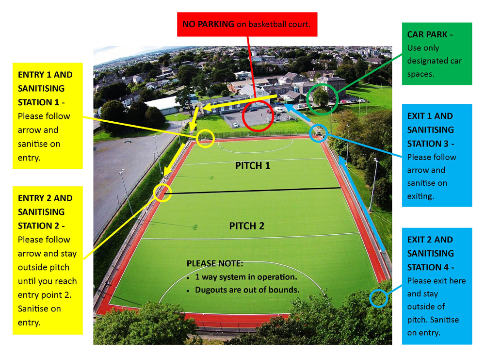 WHC pitch access map