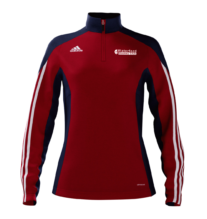 WHC Quarter Zip Adidas Training Top