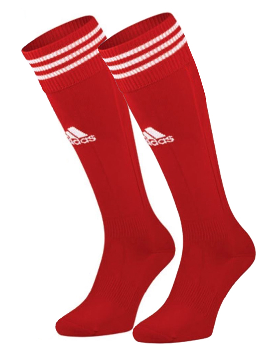 WHC Red Adidas Hockey Socks