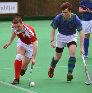 Waterford Hockey Club Men's player in action.